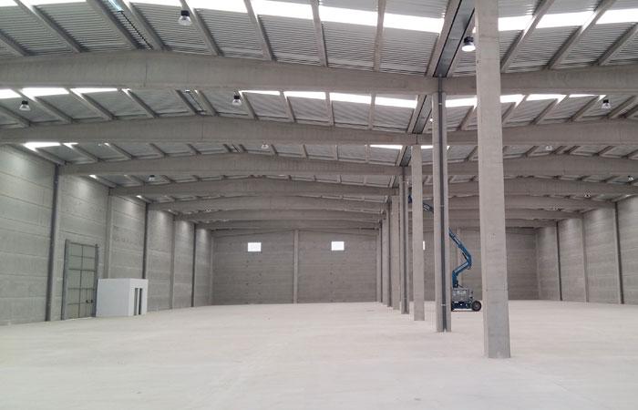 Entrega de nave industrial Abaco International Forniture